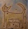 Фотография Зеленая кошка